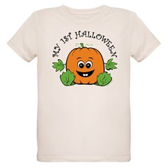 My First Halloween [Pumpkin] Organic Kids T-Shirt