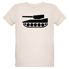Tank Crossing Organic Kids T-Shirt