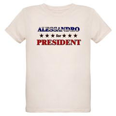 ALESSANDRO for president Organic Kids T-Shirt