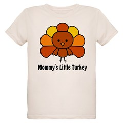 Mommy's Litttle Turkey Organic Kids T-Shirt
