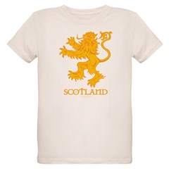 Scottish Lion by Russ Fagle Organic Kids T-Shirt