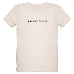 assistant brewer - Organic Kids T-Shirt