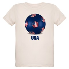 Football Organic Kids T-Shirt