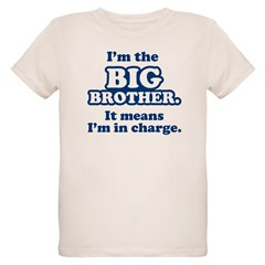 Big Brother in Charge Organic Kids T-Shirt