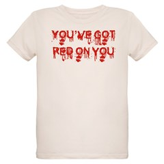 red on you.jpg Organic Kids T-Shirt