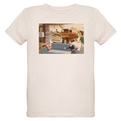 1954 GMC Panel Truck Organic Kids T-Shirt