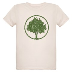 Vintage Tree Organic Kids T-Shirt