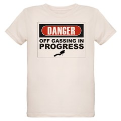 Danger Off Gassing Organic Kids T-Shirt