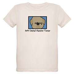 Anime Soft Coated Wheaten Terrier Baby Bodysuit Organic Kids T-Shirt