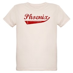 Phoenix (red vintage) Organic Kids T-Shirt