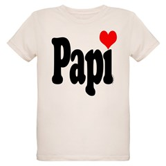 I love Papi Organic Kids T-Shirt