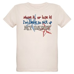 Move it or Lose it Organic Kids T-Shirt