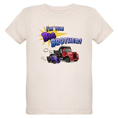 I'm the Big Brother! Organic Kids T-Shirt