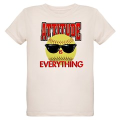 Attitude is Everything Organic Kids T-Shirt