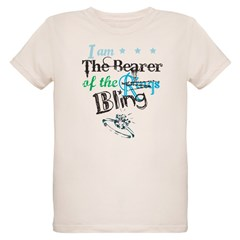 I am . . . The Bearer of The Bling Organic Kids T-Shirt