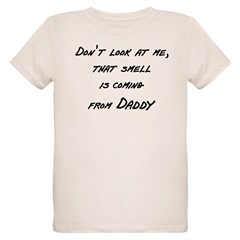 Don't look at me that smell i Organic Kids T-Shirt
