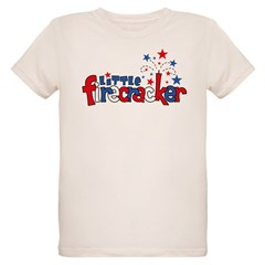 Little Firecracker Organic Kids T-Shirt