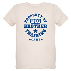 Property of Big Brother Train Organic Kids T-Shirt