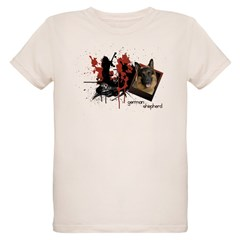 German Shepherd Organic Kids T-Shirt