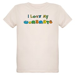 I Love My Wombmate Organic Kids T-Shirt