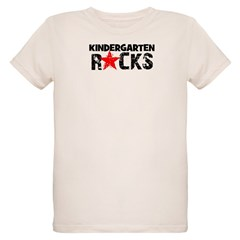 Kindergarten Rocks Organic Kids T-Shirt