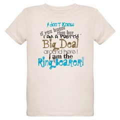 Big Deal Ring Bearer Organic Kids T-Shirt