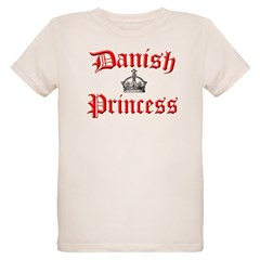 Danish Princess Organic Kids T-Shirt