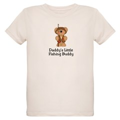 Daddy's Fishing Buddy Organic Kids T-Shirt