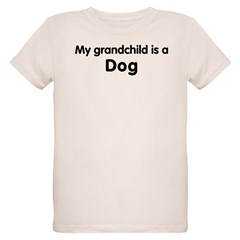 Dog grandchild Organic Kids T-Shirt