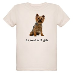 Good Silky Terrier Organic Kids T-Shirt