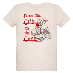 Crib to the Cage Hardcore Organic Kids T-Shirt