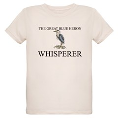 The Great Blue Heron Whisperer Organic Kids T-Shirt