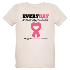 BreastCancerMissGrandmother Organic Kids T-Shirt