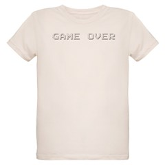 GAME OVER Organic Kids T-Shirt