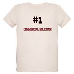 Number 1 COMMERCIAL SOLICITOR Organic Kids T-Shirt