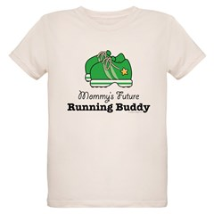 Mommy's Future Running Buddy Organic Kids T-Shirt