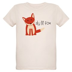 Sly Lil' Fox Organic Kids T-Shirt