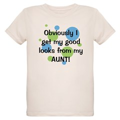 Good Looks from Aunt Organic Kids T-Shirt
