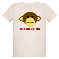 Monkey See, Monkey Do Organic Kids T-Shirt