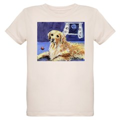 GOLDEN RETRIEVER senses moon Infant Creeper Organic Kids T-Shirt