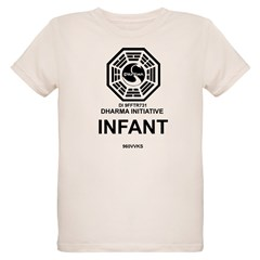 Dharma Initiative Organic Kids T-Shirt