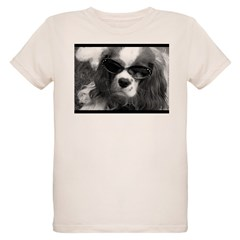 Movie Star Cavalier Organic Kids T-Shirt
