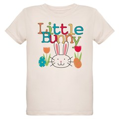 Boy Little Bunny Organic Kids T-Shirt
