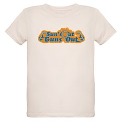 Suns out guns out -- Men Organic Kids T-Shirt