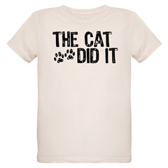 The Cat Did It Infant Creeper Organic Kids T-Shirt
