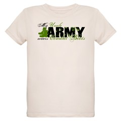 Uncle Combat Boots - ARMY Organic Kids T-Shirt