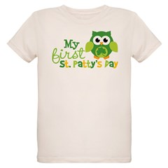 My 1st St. Patrick's Day Ow Organic Kids T-Shirt