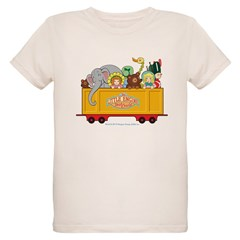 Freight Car Organic Kids T-Shirt