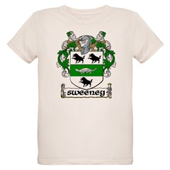 Sweeney Coat of Arms Infant Creeper Organic Kids T-Shirt