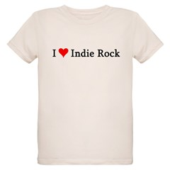 I Love Indie Rock Infant Creeper Organic Kids T-Shirt